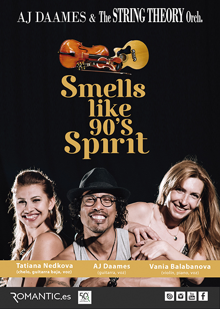 SMELLS LIKE 90'S SPIRIT By Aj Daames & String Theory