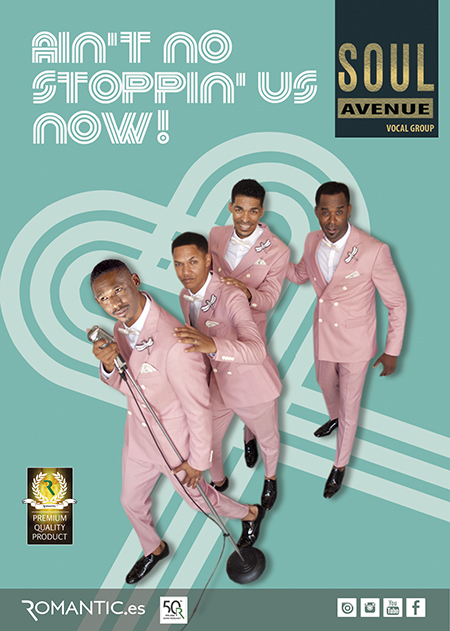 AIN'T NO STOPPIN' US NOW! BY SOUL AVENUE VOCAL GROUP