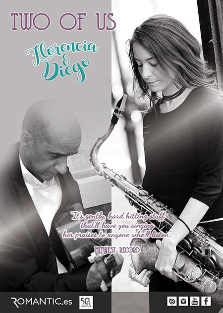 TWO OF US By FLORENCIA & DIEGO Sax& Guitar