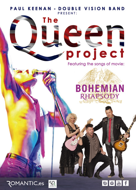 THE QUEEN PROJECT  by Paul Keenan Band