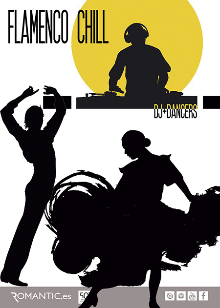 FLAMENCO CHILL DJ + SPANISH DANCER